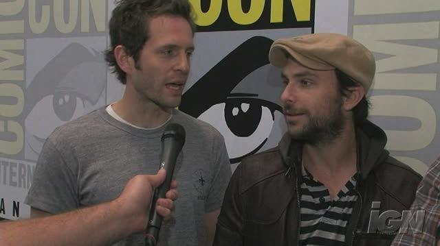 It's Always Sunny in Philadelphia TV Interview - Glenn Howerton, Charlie Day & Rob McElhenney SDCC 08