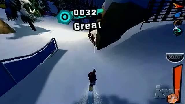 Shaun White Snowboarding Sony PSP Gameplay - Nose Press