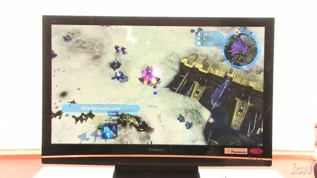 Halo Wars Xbox 360 Feature-Commentary - TGS 2008 Major Attacks (Off-Screen Demo)