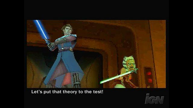 Star Wars The Clone Wars -- Jedi Alliance Nintendo DS Gameplay-Cinematic - The Nightsisters