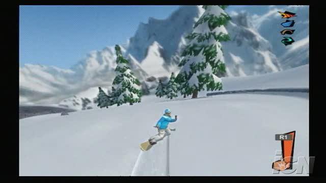 Shaun White Snowboarding PlayStation 2 Gameplay 2008 12 11