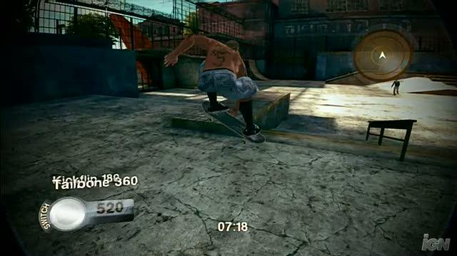 Skate 2 Xbox 360 Gameplay - Bail