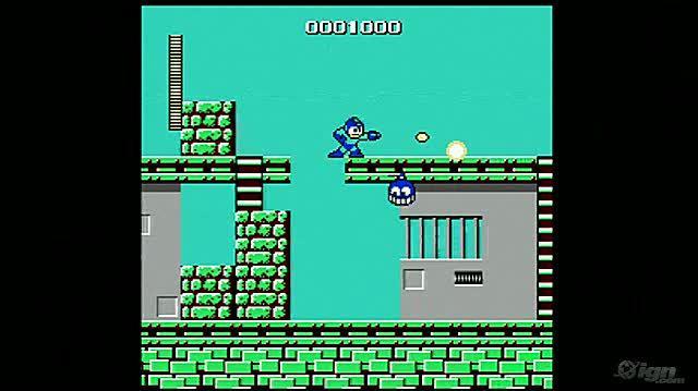 Mega Man Retro Game Gameplay - Gameplay