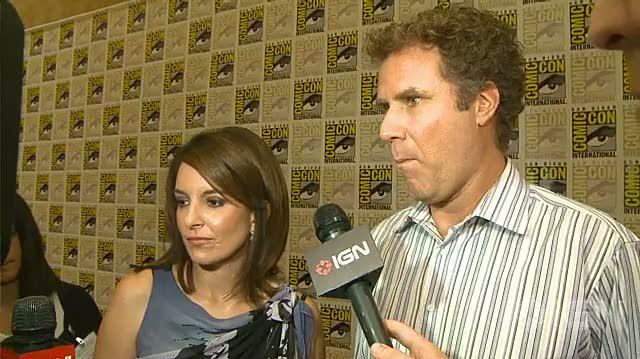 Megamind Movie - SDCC 10 Will Ferrell & Tina Fey Interview