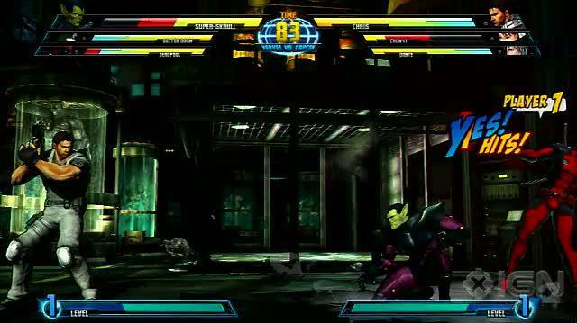 Marvel Vs. Capcom 3 X360 - Chun Li vs. Super Skrull