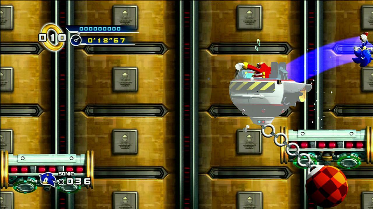Sonic the Hedgehog 4 Final Showdown in Space Walkthrough, Part 1