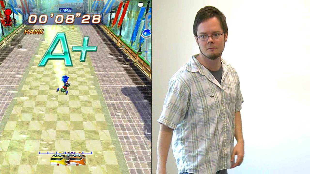Sonic Free Riders Fancy Tricks Gameplay