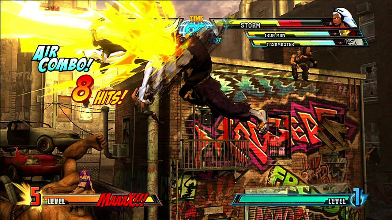 Marvel vs. Capcom 3 Akuma Gameplay Footage
