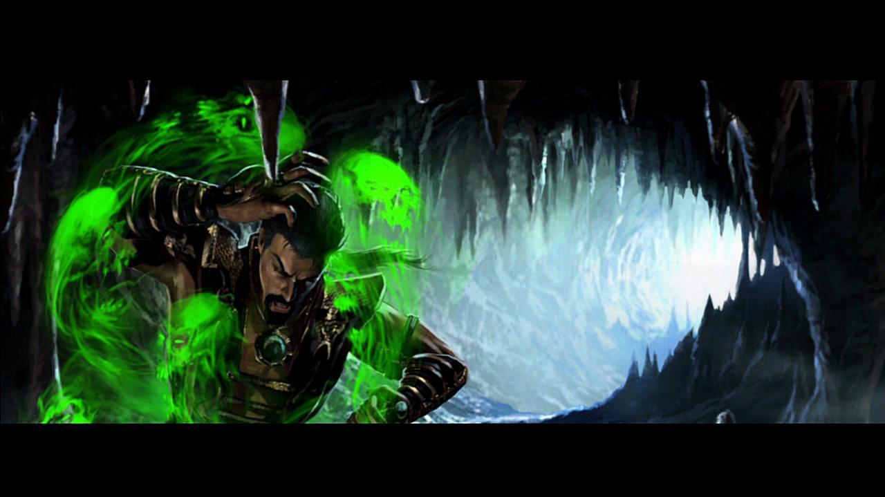 Mortal Kombat Shang Tsung Ending