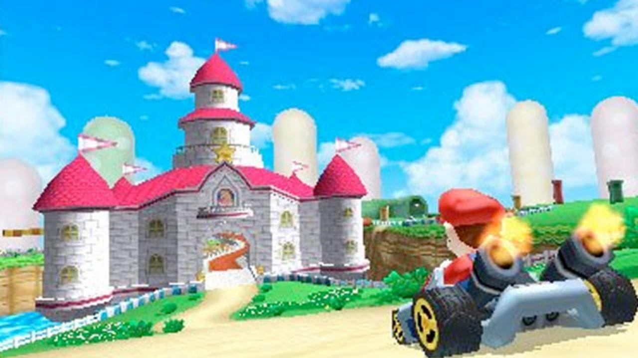 E3 2011 Mario Kart 3DS Trailer