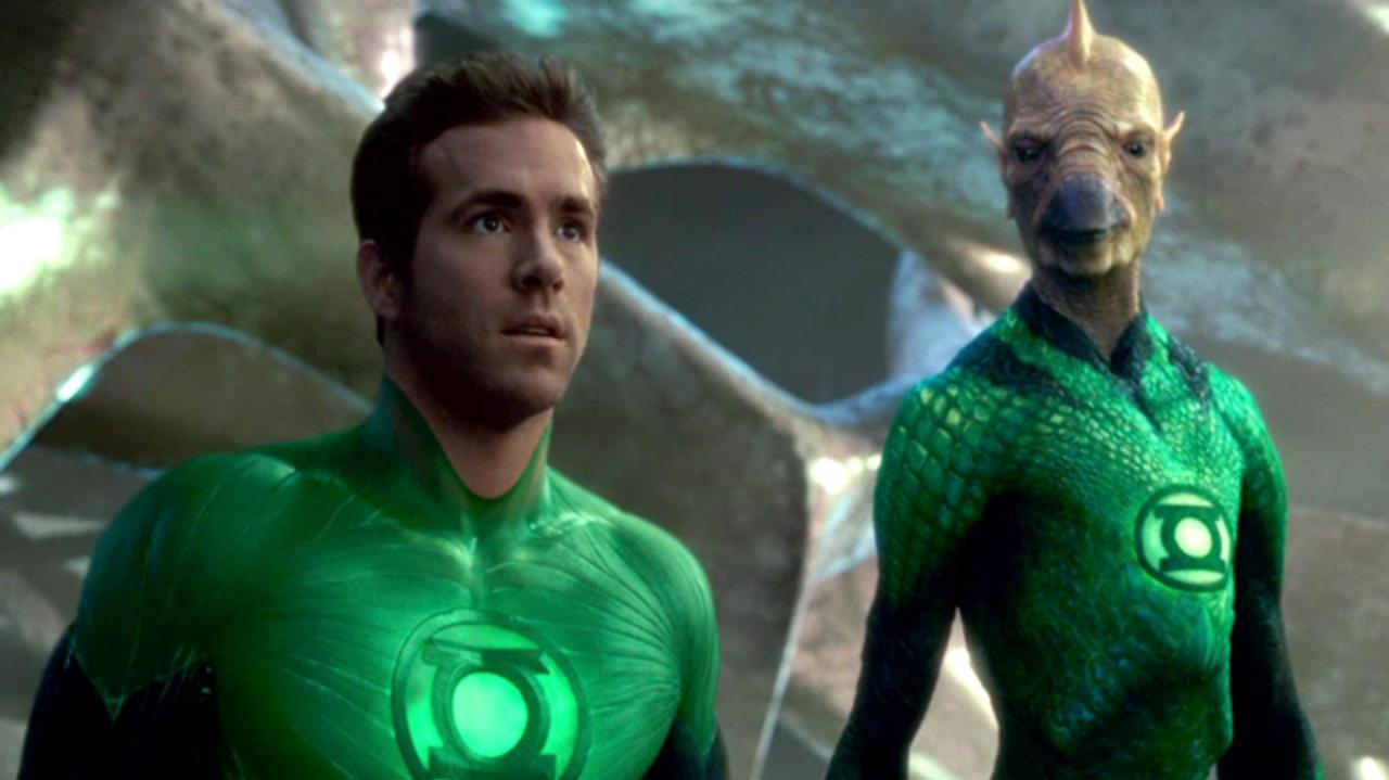 Green Lantern Clip - We're Going to Fly