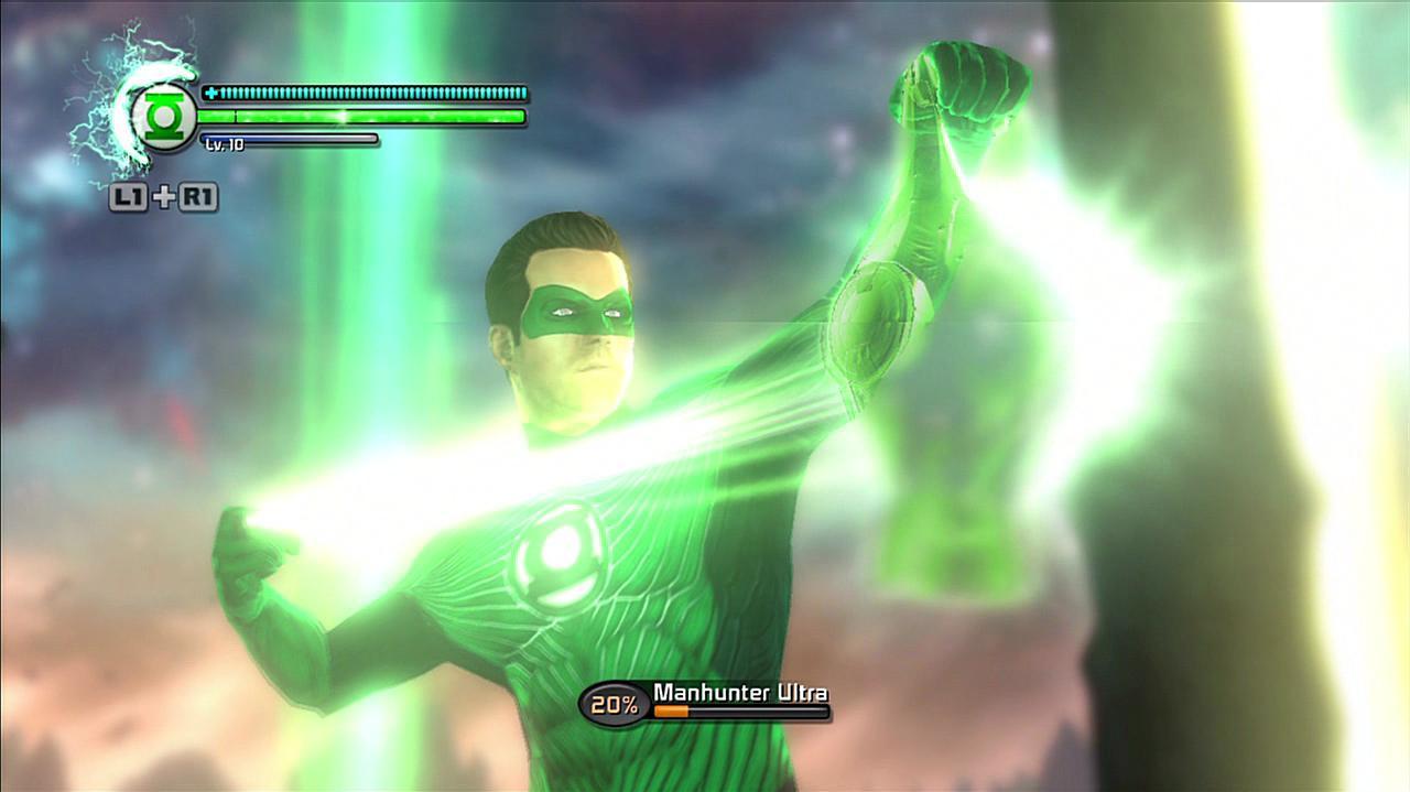 Green Lantern Rise of the Manhunters - Lantern Oath