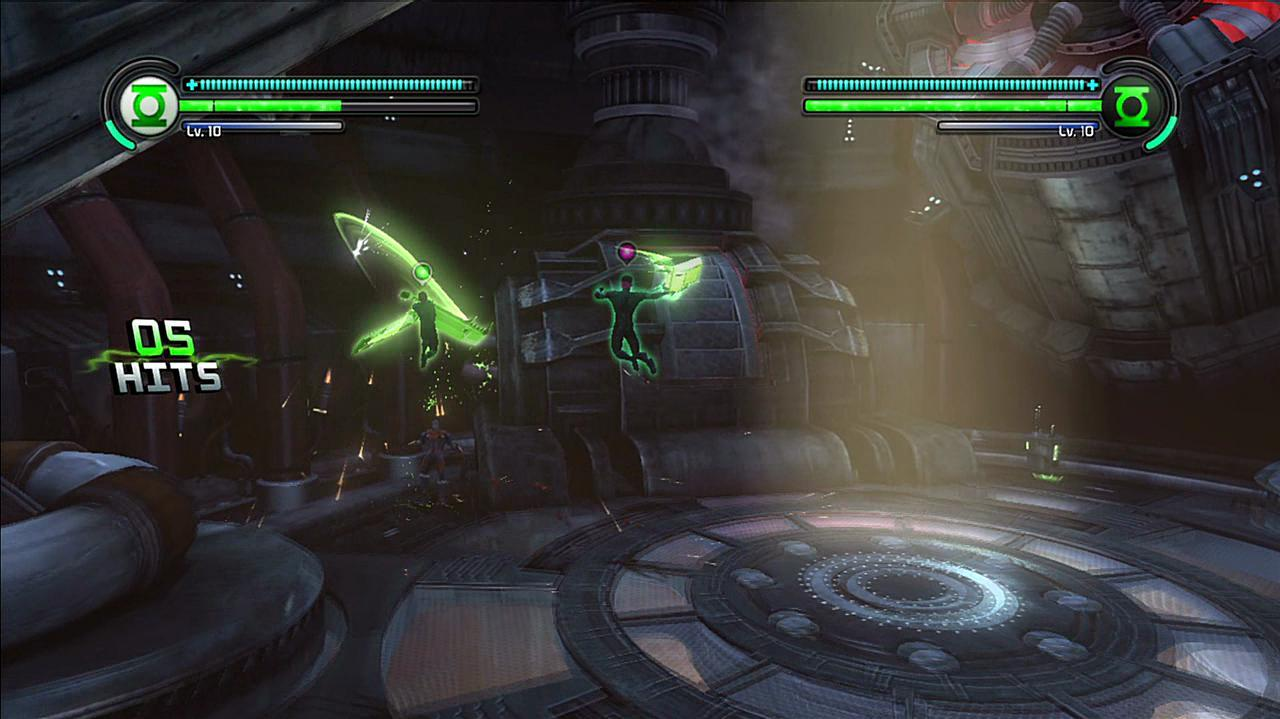 Green Lantern Rise of the Manhunters - Co-op Battle of Death