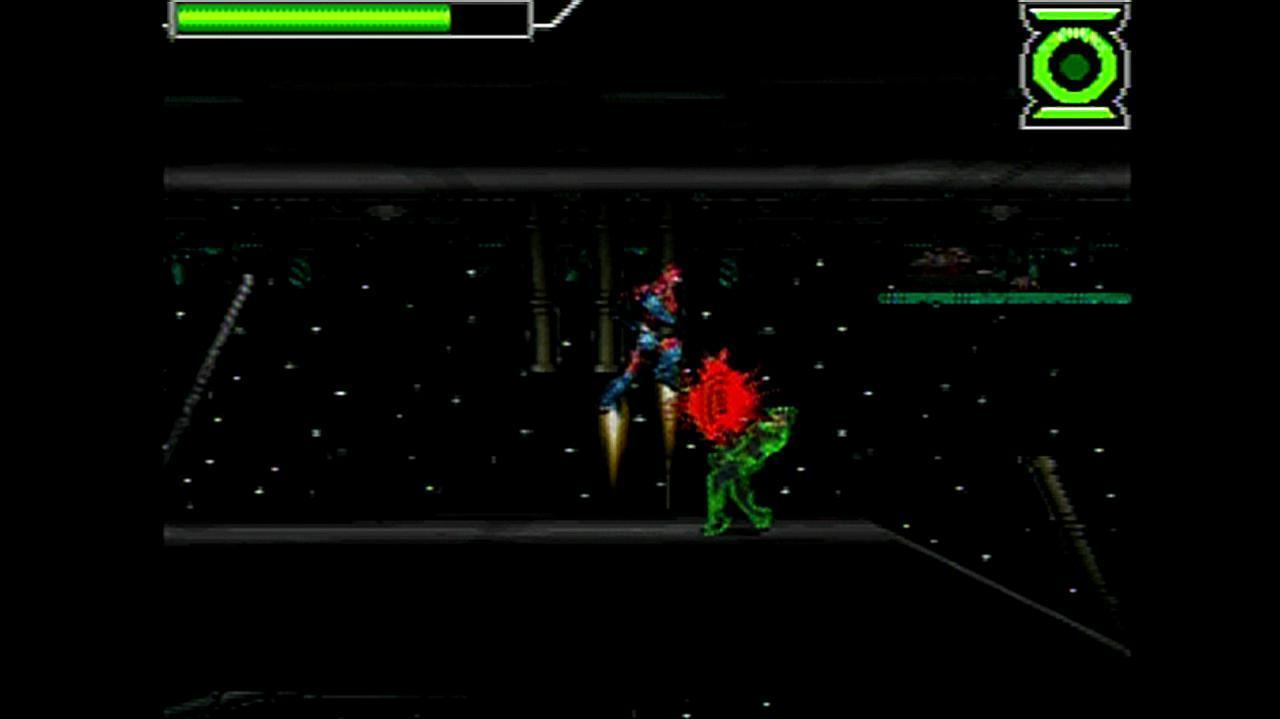 Green Lantern Rise of the Manhunters Flying Around Gameplay