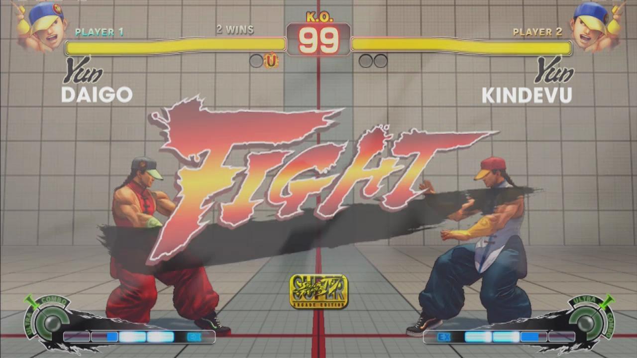 Super Street Fighter IV Arcade Edition - Evo 2011 Top 8 – Daigo vs. Kindevu