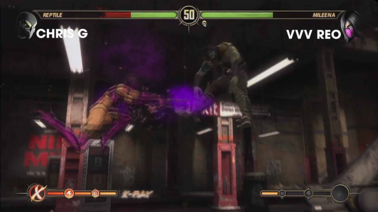 Mortal Kombat - Evo 2011 Top 8 - Chris G vs. REO