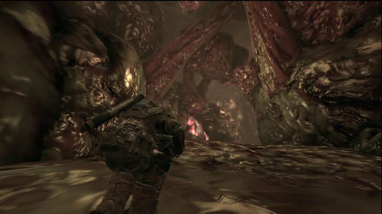 Gears of War 2 Inside The Riftworm