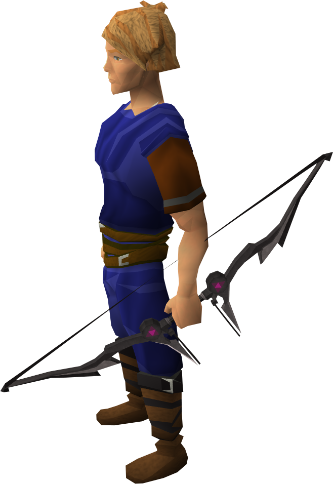 Heres What The New Level 90 Bow Looks Like From The Bts Runescape