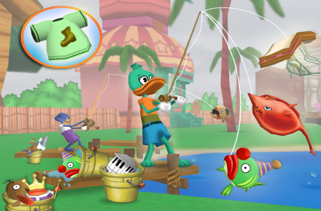 Activities and minigames mmorpg for all people for Real life fishing games