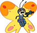 Butterfly With Laser Gun