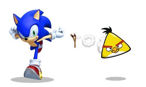 Image - Sonic vs chuck...
