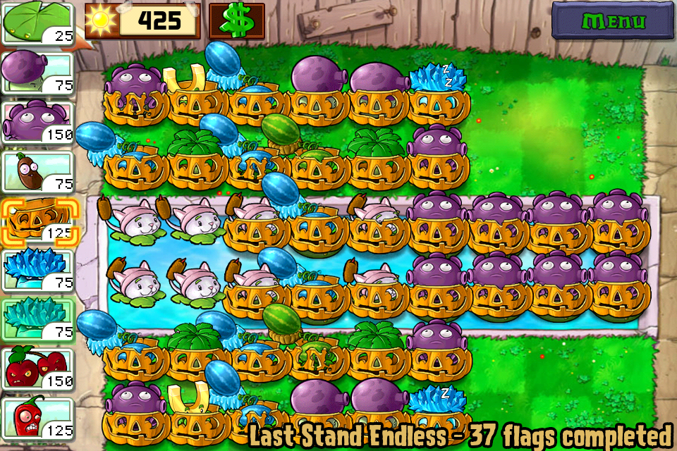 Last Stand Endless Plants Vs Zombies Wiki Wikia