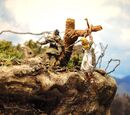Upadek Brek Zarith (diorama)