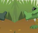 Moon Crocodile