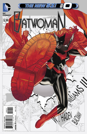 Cover for Batwoman #0 (2012)