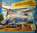 66427 City Police Super Pack 4 in 1