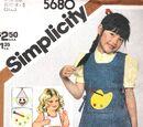 Simplicity 5680 B