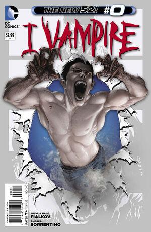 Cover for I, Vampire #0 (2012)