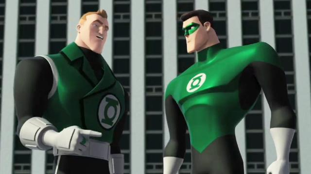 Green Lantern The Animated Series Clip - Meet Guy Gardner