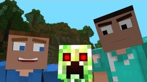 """""""Creepers are Terrible"""" - A Minecraft Parody of One Direction's What Makes You Beautiful"""