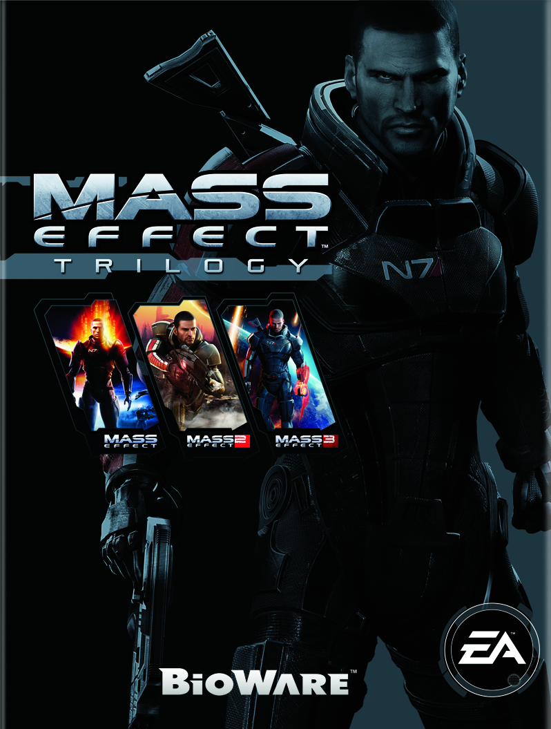 Alternate Covers For Mass Effect Mass Effect Trilogy Cover