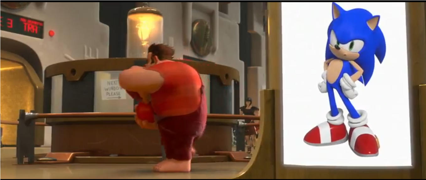 Image - Sonic in Wreck It Ralph.png - Sonic News Network ...Wreck It Ralph Tails