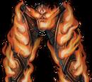 Orange Cursed Flame