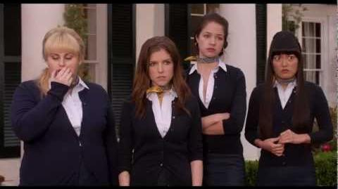 Chloe tells 'The Bellas' that she has nodes