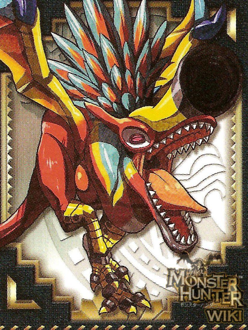 Crimson Qurupeco - The Monster Hunter Wiki - Monster ...