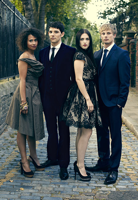 Bradley James Girlfriend Angel Coulby FileAngel Coulby Colin Morgan
