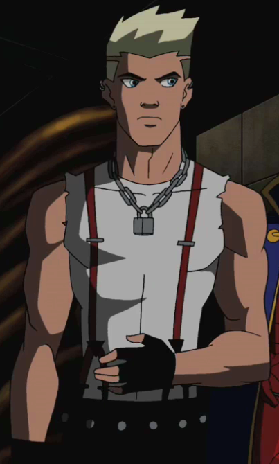 Tommy in 2010 Young Justice Wonder Twins