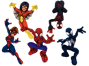 Spider Friends (Earth-91119) from Marvel Super Hero Squad Online 001.png