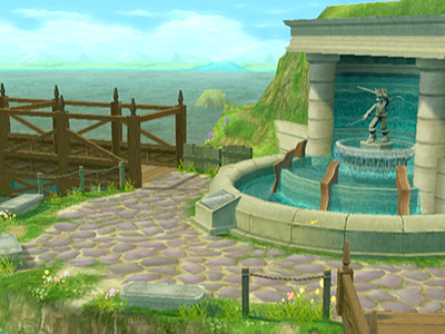 how to get to seal of water tales of symphonia