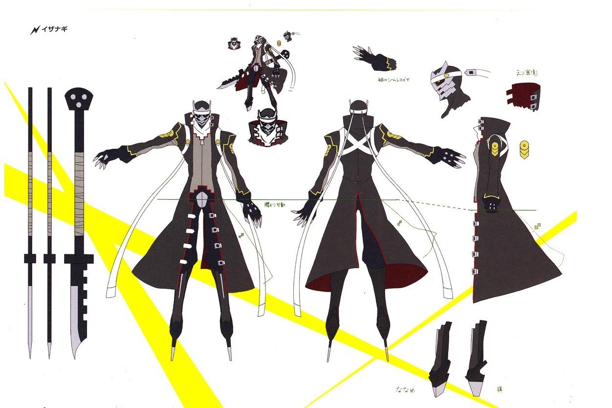 Izanagi And Izanami Persona 4 Persona 4 Arena concept