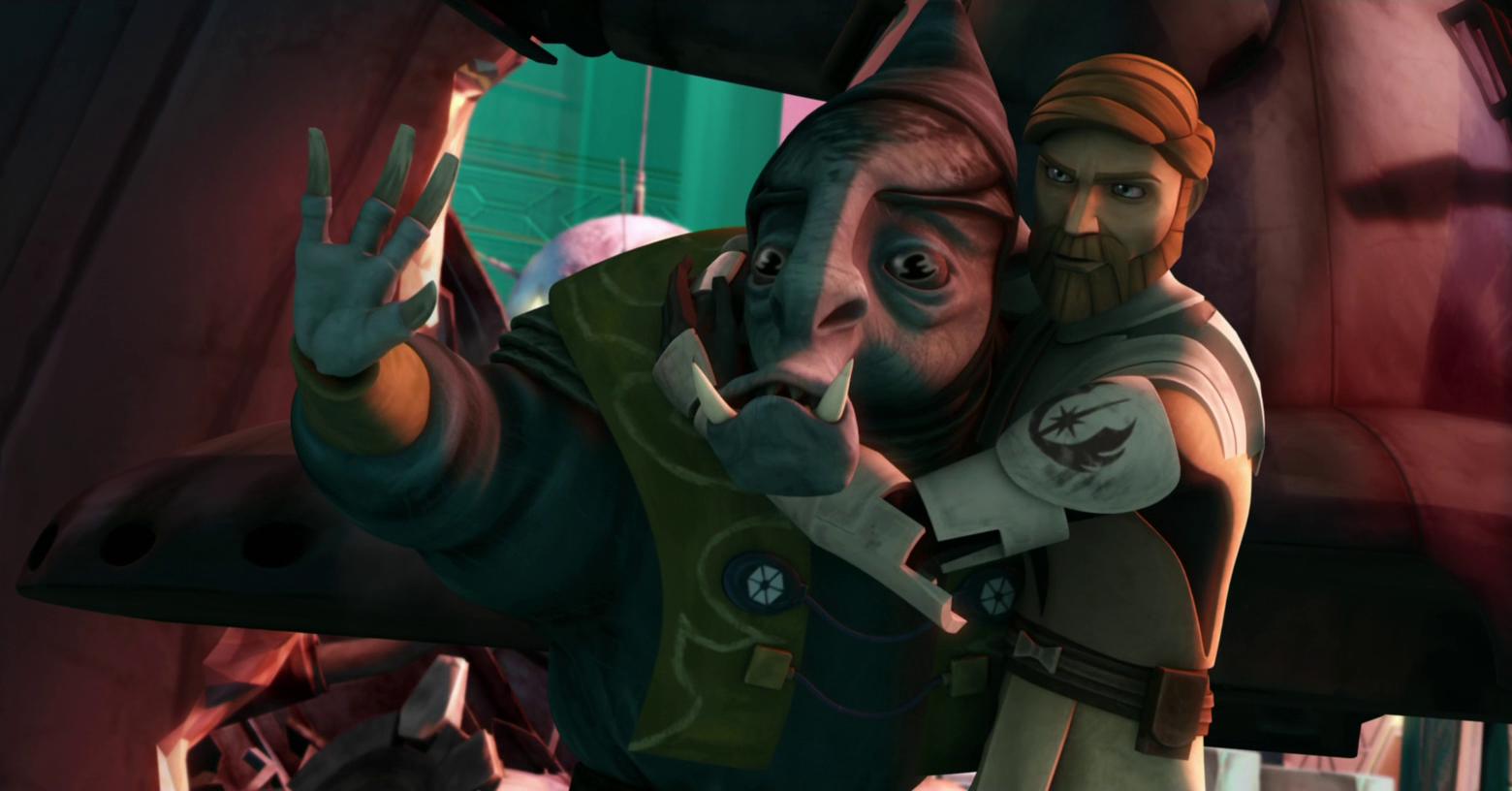 Loathsom was shamed by his defeat and capture at the hands of Kenobi