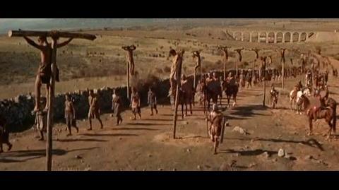 Spartacus - crucify