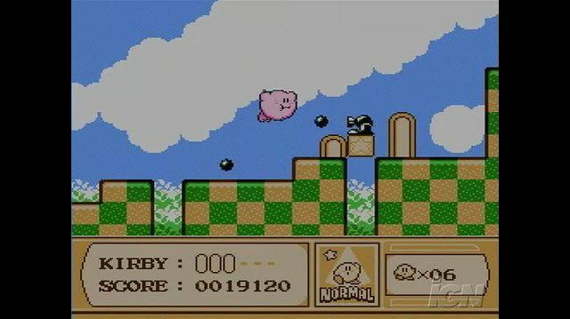 Kirby's Adventure Retro Game Gameplay - Go Kirby