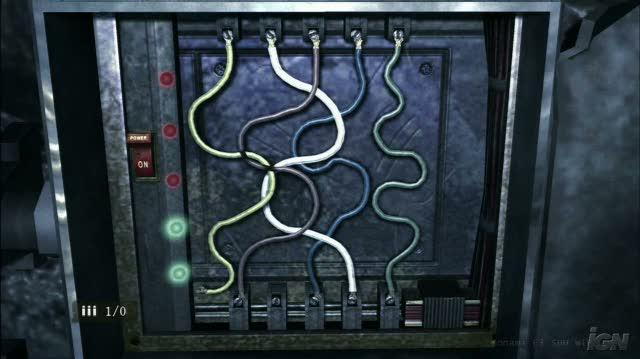 Silent Hill Homecoming Xbox 360 Gameplay - E3 2008 Wire Puzzle