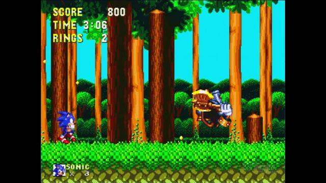 Sonic & Knuckles Xbox Live Gameplay - Level 1 Boss