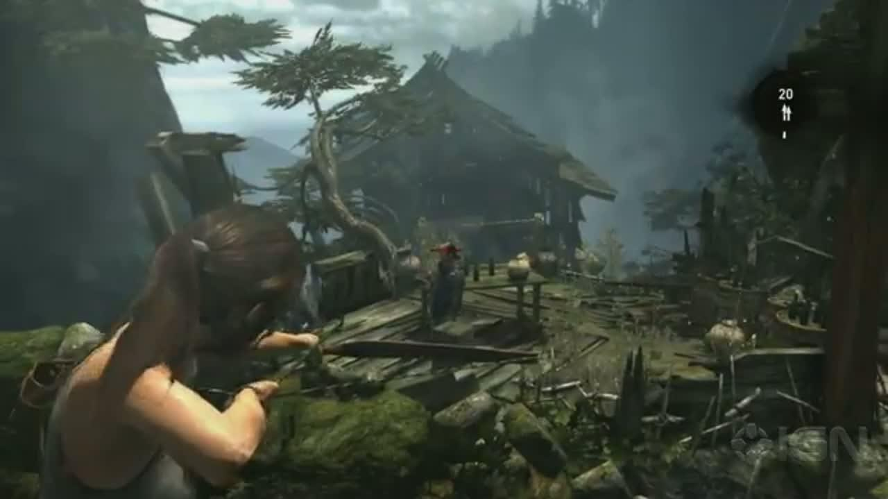 Bow and Arrow Montage - Assassin's Creed III, Tomb Raider, Far Cry 3, Crysis 3 - E3 2012